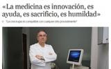 LA CRIOCIRUGÍA Y EL DR. PEDRO TORRECILLAS, PROTAGONISTAS EN EL DIARIO EL MUNDO